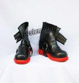 鋼の錬金術師 エドワード・エルリック風 コスプレ靴 ブーツ