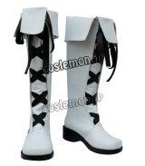家庭教師ヒットマンREBORN!リボーン ベルフェゴール風 コスプレ靴 ブーツ
