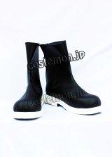 キングダムハーツ2 ロクサス風 コスプレ靴 ブーツ