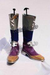 ファイナルファンタジーV バーズ風 コスプレ靴 ブーツ