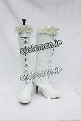 ONE PIECE ワンピース ニコ・ロビン風 コスプレ靴 ブーツ