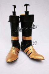ファイナルファンタジーVII FF7 ヴィンセント風・ヴァレンタイン風 コスプレ靴 ブーツ