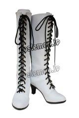 黒執事 アンジェラ・ブラン風 コスプレ靴 ブーツ