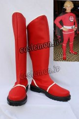 アメリカン・ヒーロー The Greatest American Hero ラルフ・ヒンクリー風 コスプレ靴 ブーツ