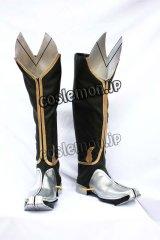 ブレイブルー BLAZBLUE シシガミ=バング / 獅子神萬駆風 コスプレ靴 ブーツ