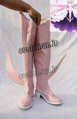 魔法少女まどか☆マギカ 女神まどか 鹿目まどか風 コスプレ靴 ブーツ