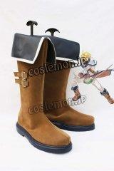 テイルズウィーバー Tales Weaver ルシアン・カルツ風 コスプレ靴 ブーツ