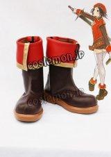 テイルズウィーバー Tales Weaver イスピン・シャルル風 コスプレ靴 ブーツ