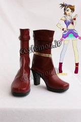 アイドルマスター THE IDOLM@STER 双海亜美風 コスプレ靴 ブーツ