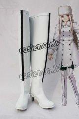 Fate/Zero フェイト/ゼロ アイリスフィール・フォン・アインツベルン風 コスプレ靴 ブーツ