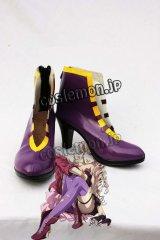 マクロスF マクロスフロンティア シェリル・ノーム風 05 コスプレ靴 ブーツ
