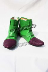 Dragon Ball ビーデル風 コスプレ靴 ブーツ