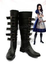 Alice: Madness Returns Alice風 コスプレ靴 ブーツ