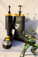 スターフォックス Star Fox フォックス・マクラウド風 コスプレ靴 ブーツ