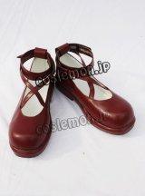 緋弾のアリア 峰理子風 みねりこ コスプレ靴 ブーツ