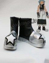 ソウルイーター SOUL EATER ブラック☆スター風 コスプレ靴 ブーツ