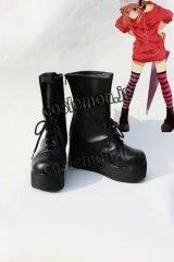 銀魂 神楽風 03 コスプレ靴 ブーツ