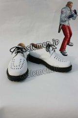 鉄拳 TEKKEN スティーブ・フォックス風 Steve Fox コスプレ靴 ブーツ