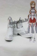 ソードアート・オンライン アスナ/結城明日奈風 コスプレ靴 ブーツ