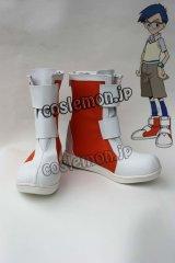 デジモンアドベンチャー 城戸丈風 コスプレ靴 ブーツ