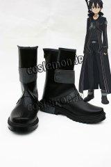 ソードアート・オンライン 桐人 キリト/桐ヶ谷和人風 コスプレ靴 ブーツ
