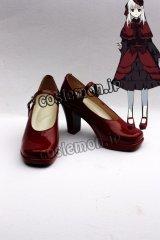 《K》 櫛名 アンナ風 コスプレ靴 ブーツ