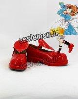 カードキャプターさくら 木之本桜風 12 コスプレ靴 ブーツ