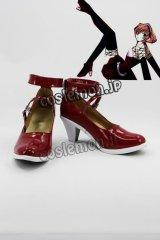 ツバサ・クロニクル サクラ風 コスプレ靴 ブーツ