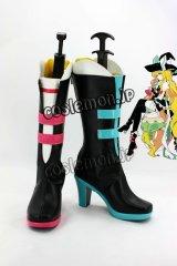 東方Project 霧雨魔理沙風 02 コスプレ靴 ブーツ