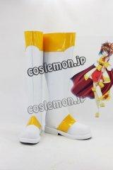 カードキャプターさくら 木之本桜風 11 コスプレ靴 ブーツ