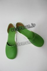 VOCALOID 鏡音レン風 03 コスプレ靴 ブーツ