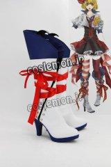 VOCALOID 鏡音風 コスプレ靴 ブーツ