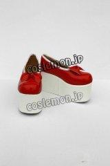 東方Project フランドール・スカーレット風 コスプレ靴 ブーツ