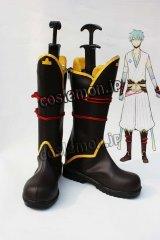 黒子のバスケ 黒子テツヤ風 コスプレ靴 ブーツ