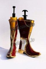 ワンド オブ フォーチュン Wand of Fortune ルル風 コスプレ靴 ブーツ