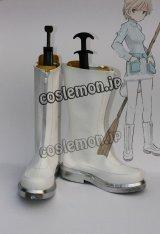 ストライクウィッチーズ エイラ·イルマタル·ユーティライネン風 コスプレ靴 ブーツ