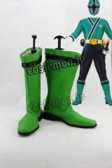 谷千明風 緑 コスプレ靴 ブーツ