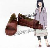 NARUTO ナルト 日向ヒナタ風 ひゅうがひなた コスプレ靴 ブーツ