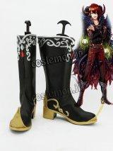 夢王国と眠れる100人の王子様 ヒナタ風 月 覚醒 コスプレ靴 ブーツ