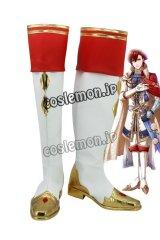 夢王国と眠れる100人の王子様 アヴィ風 イノセントブライダル コスプレ靴 ブーツ