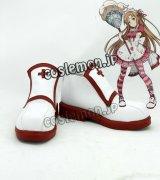 ソードアート・オンライン アスナ風 Asuna コスプレ靴 ブーツ