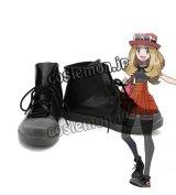 X・Y 女主人公風 コスプレ靴 ブーツ