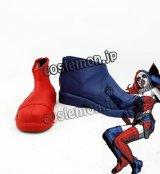 ザ・バットマン The Batman ハーリーン・クインゼル博士/ハーレイ・クイン風 N52 コスプレ靴 ブーツ