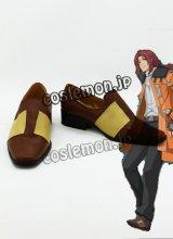 英雄伝説:碧の軌跡 ランディ·オルランド コスプレ靴 ブーツ