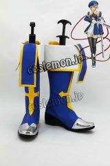 BLAZBLUE ブレイブルー ジン=キサラギ風 コスプレ靴 ブーツ