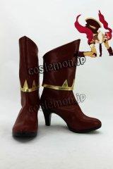 RWBY ルビー Pyrrha Nikos ピュラ・ニコス風 コスプレ靴 ブーツ