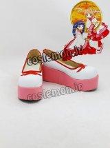 カードキャプターさくら 木之本桜風 13 コスプレ靴 ブーツ