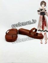 VOCALOID MEIKO メイコ風 番凩 コスプレ靴 ブーツ