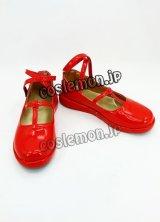 ハートの国のアリス クローバーの国のアリス風 コスプレ靴 ブーツ