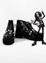 ONE PIECE ワンピース ブルック風 コスプレ靴 ブーツ